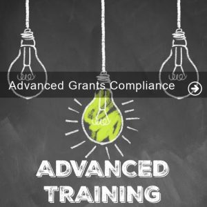 Advanced Grants Compliance Training GRAPHIC